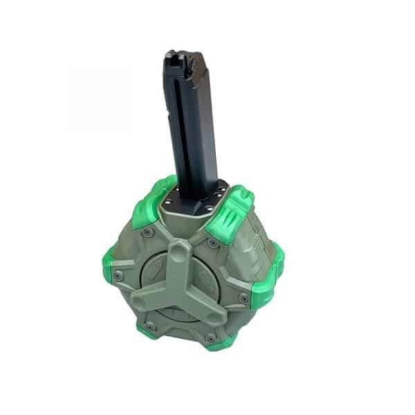 we glock gas drum magazine 350 rounds