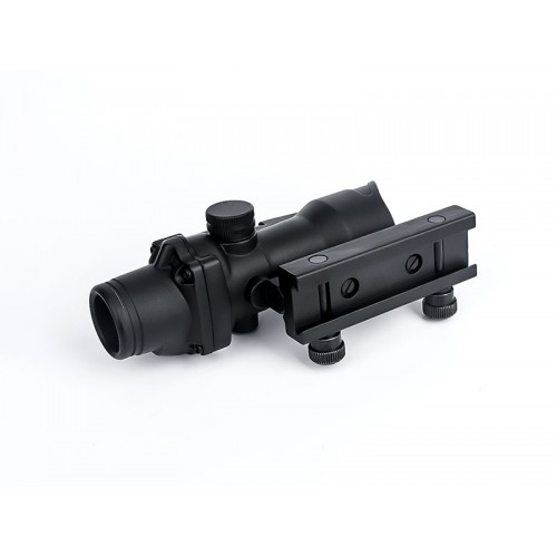 aim-o acog style 1x32 fibre illuminated red dot sight 4