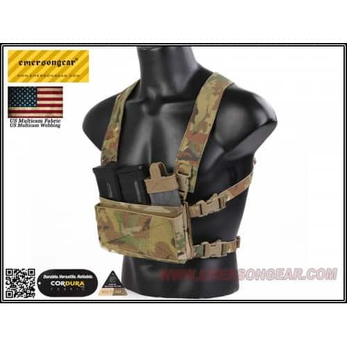 emerson gear d3crm chest rig x-harness kit multicam 3