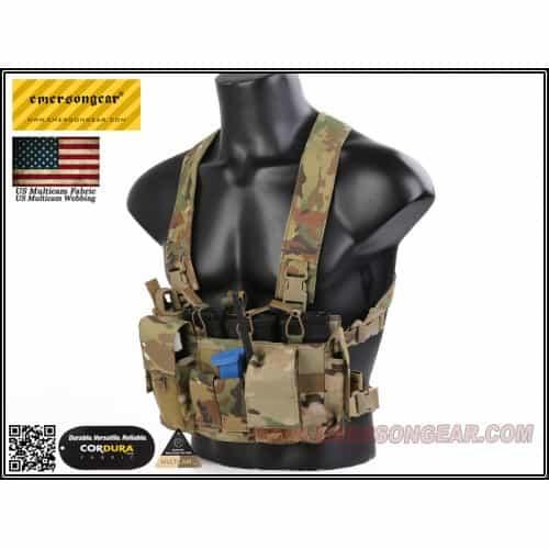 emerson gear d3crm chest rig x-harness kit multicam 4