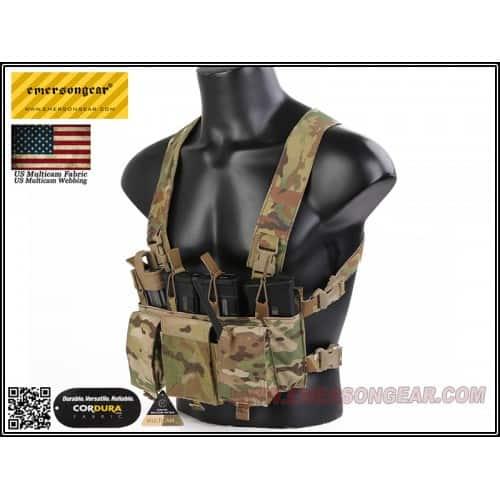 emerson gear d3crm chest rig x-harness kit multicam 5