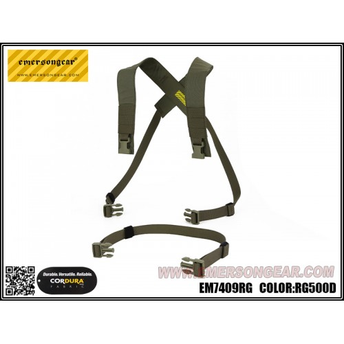 emerson gear d3crm chest rig x-harness kit ranger green