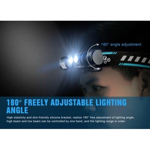 trustfire h5r headlamp 600 lumens 2
