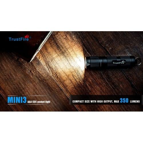 trustfire mini3 small keychain torch 9