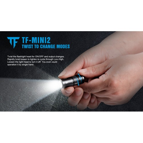 trustfire mini2 keychain flashlight 3