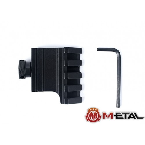 m-etal 45 degree offset rail mount 1