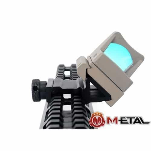 m-etal 45 degree offset rail mount 3