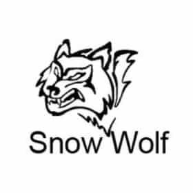 snow wolf logo