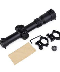 aim-o 1-4x24se tactical scope red/green illumination 1