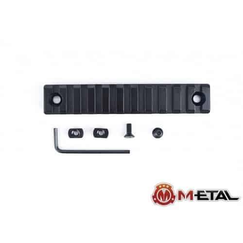m-etal 11 slot m-lok rail section