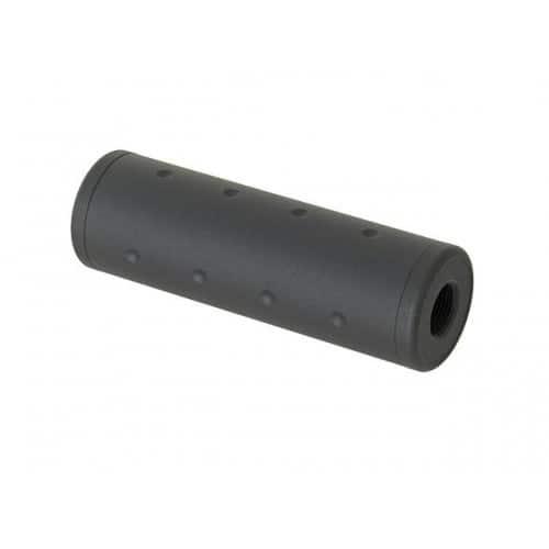m-etal 98x35mm airsoft silencer cw ccw 14mm thread