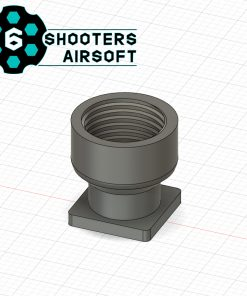 6 shooters h8r revolver thread adapter 11mm cw 1