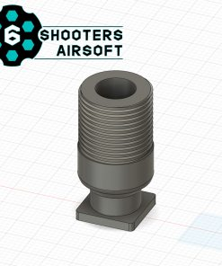 6 shooters h8r revolver thread adapter 14mm ccw 1