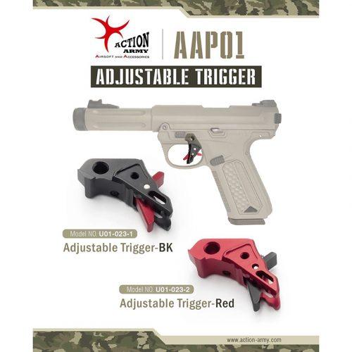 action army aap-01 adjustable trigger cnc aluminium black