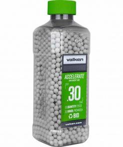 valken accelerate 0.30g biodegradable airsoft bbs 2500