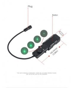 wadsn p4 combined module red & ir laser 7