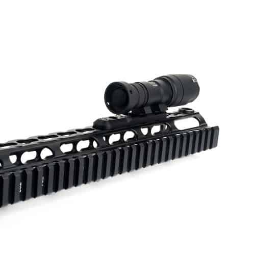 wadsn thorntail inline m-lok and keymod flashlight mount 5