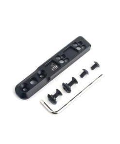 wadsn thorntail inline m-lok and keymod flashlight mount 2