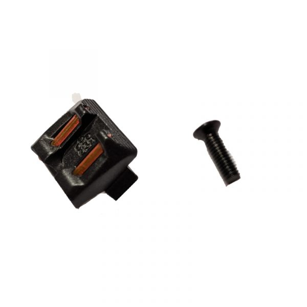 we force g series fibre optic rear sight parts 46, 58