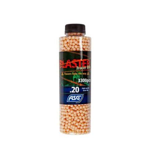 asg blaster tracer bbs 0.20g 3300 red