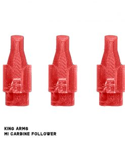 6 shooters 'stop' followers for king arms m1 carbine red
