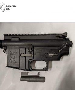 king arms m4 receiver set black