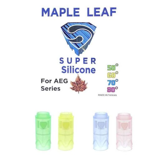 maple leaf super silicone aeg hop rubber