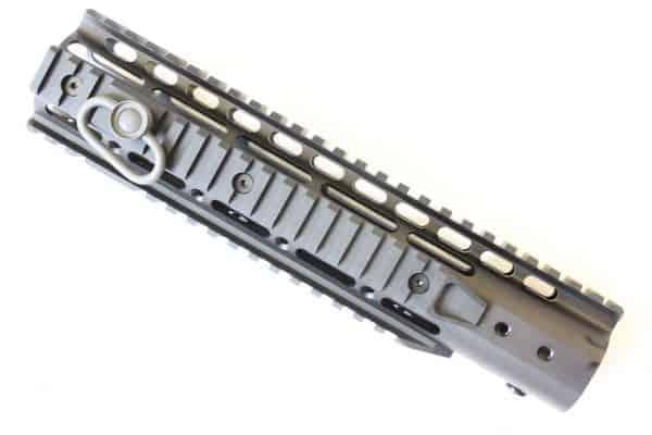"ZCI Keymod CNC aluminium with rails & sling loop 10"""