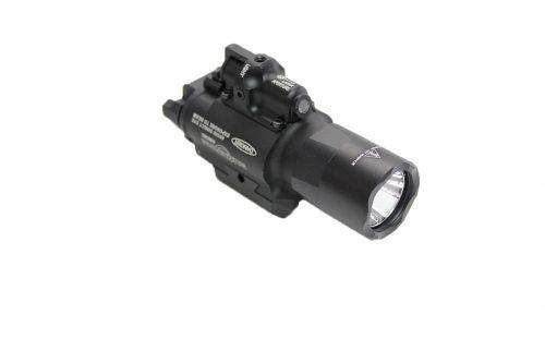 Wadsn SF X400 Ultra Rail Mounted Flashlight And Laser - Black