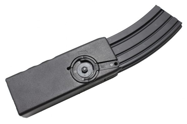 1500 round m4 speedloader 1 WBD 1500 round winding speedloader for M4 style magazines
