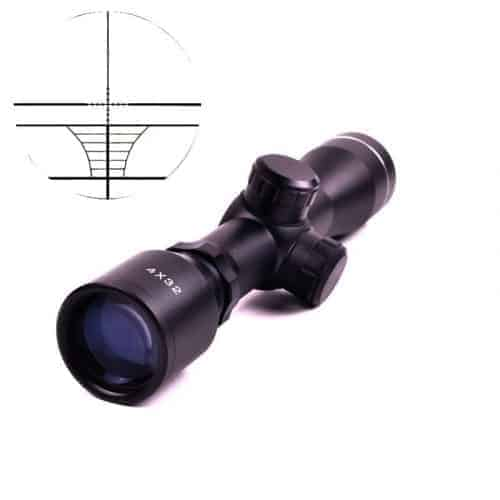 Tactical 4x32 Compact Rifle Scope with 20mm rail mounts
