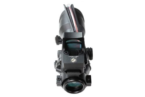 ACOG Style 4x32 Fibre illuminated with RMR sight
