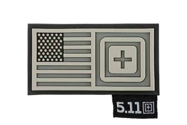 5 11 tactical short stack patch double tap 5.11 Short Stack US flag patch - Double Tap