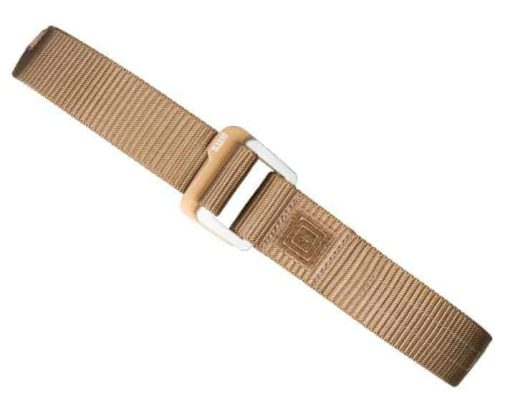 5.11 Traverse Double Buckle Belt (M) - Battle Brown