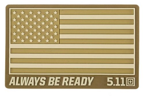 5 11 usa flag patch subdues coyote 5.11 Tactical USA Flag patch subdued - Coyote