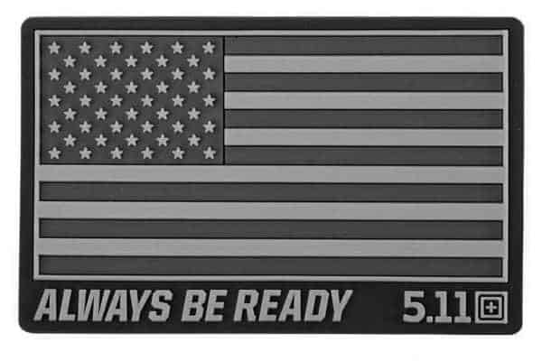 5 11 usa flag patch subdues double tap 5.11 Tactical USA Flag patch subdued - Double Tap