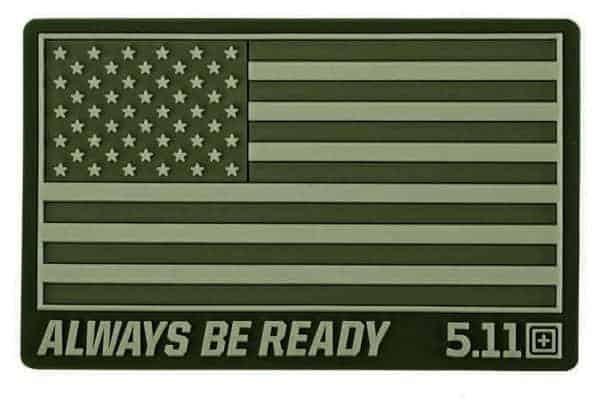 5 11 usa flag patch subdues olive 5.11 Tactical USA Flag patch subdued - Olive