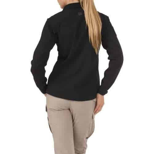 5.11 Womens Sierra Softshell Jacket - Black (L)
