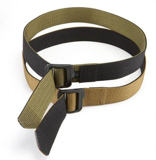 5.11 tactical double duty 1.5 inch belt black/coyote