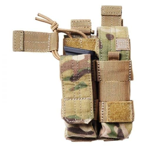 511 double pistol pouch multicam 1 5.11 Double Pistol Magazine Pouch With Bungee