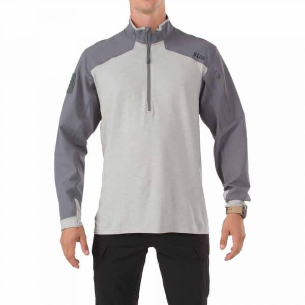 511 rapid assault shirt storm 1 5.11 Rapid Response Quarter Zip Shirt - Storm grey (XL)