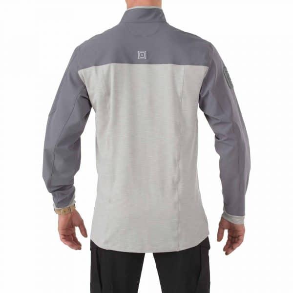 511 rapid assault shirt storm 2 5.11 Rapid Response Quarter Zip Shirt - Storm grey (XL)