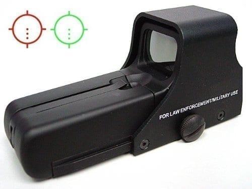 aim-o holo sight 552 red/green illumination