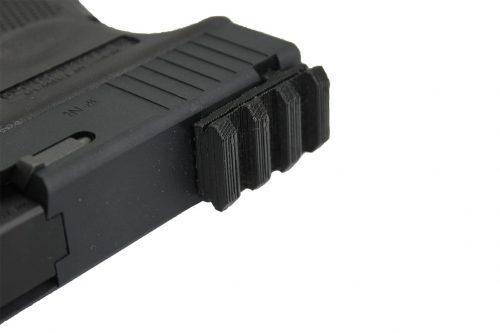 6 shooter glock 20mm rail 3 6 Shooters 20mm rail for Glock GBB pistol