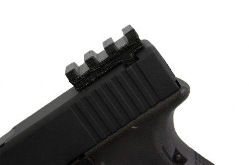 6 shooter glock 20mm rail 4 6 Shooters 20mm rail for Glock GBB pistol