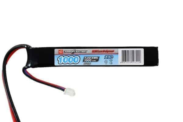 VP Power 7.4V 1000MAH 20C LiPo battery - Stick