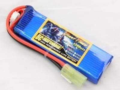 74v 1300 mah mini batterygp Giant Power 7.4V 1300mAh 15C+ contin discharge lipo battery (123