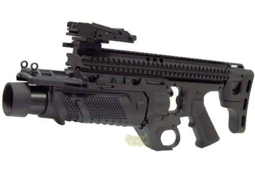 Airsoft EGLM 40mm SCAR Stand Alone Grenade Launcher Black