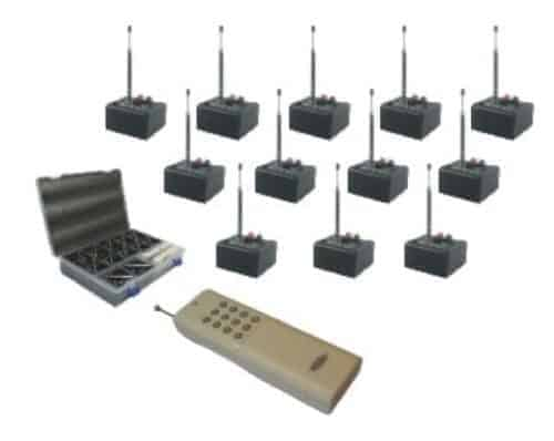 12-Channel Wireless Firing System