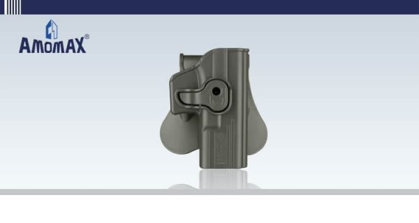 Amomax glock holster 1 Amomax Plastic Glock Holster for WE / TM / KJW / HFC